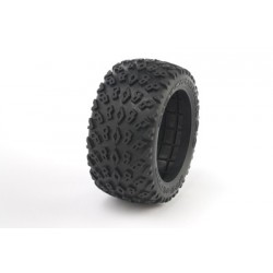 "Medial Pro - Tyres w/ Foam inserts ""Dirt Crusher 2.8"" , fits all 'Addict 2.8' Rims"