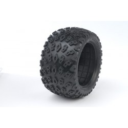 "Medial Pro - Tyres w/ Foam inserts ""Dirt Crusher 4.0"" , fits ""XD Bully 4.0"" + Cyclon 4.0 Rims"