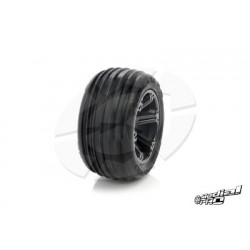 "Medial Pro - Tyre set pre-mounted ""Tracer 2.8"" , White"