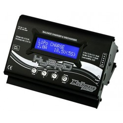 Hybrid AC/DC Balance Charger&Discharger Black