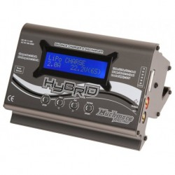 Hybrid AC/DC Balance Charger&Discharger Silver