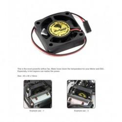 Super Ultra High RPM Motor Cooling Fan 40mmx40mmx10mm