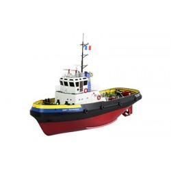 Naviscales - Smit Frankrijk- Tug Boat, incl. Esc, Motor, Servo, No Radio