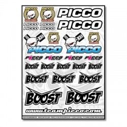 PICCO BOOST RACING DECALS