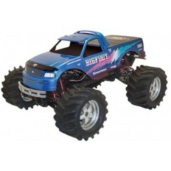 1/10 97 Ford Bigfoot w/Decal- unlackiert