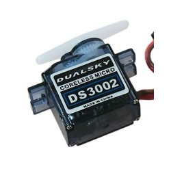 DS3002 10g micro std servo for park models