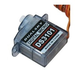 DS3101, 3.7g, Digital micro servo for precision mini models