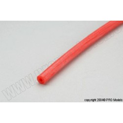 Protech RC - Sil. Tube Red 2X5 25m