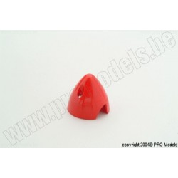 Protech RC - Spinner 38 mm Red, 1 Pc