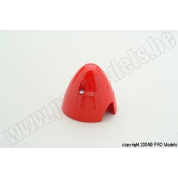 Protech RC - Spinner 50 mm Red, 1 Pc