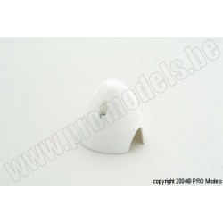 Protech RC - Spinner 50 mm White, 1 Pc