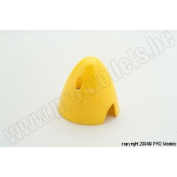 Protech RC - Spinner 57 mm Yellow, 1 Pc