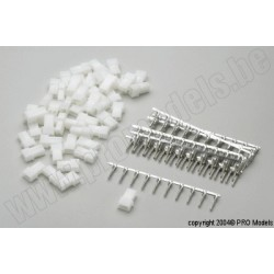 Protech RC - Amp Connector Female, 50 Pcs