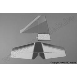 Protech RC - Tail Set Tojeiro 50