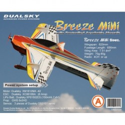 Breeze Mini(type B - Blue)EPP indoor acrobatic model