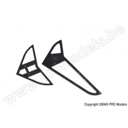 Protech RC - Stabilizer / Fin Set Zoom 450 Ep