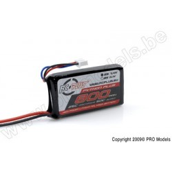 RC Plus - Python Plus 25-30C 800 Mah 2S1P 7,4V LiPo Batterypack, BEC Conn.