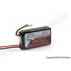 RC Plus - Python Plus 25-30C 800 Mah 3S1P 11,1V LiPo Batterypack, BEC Conn.