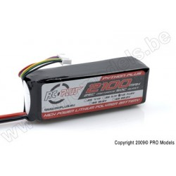 RC Plus - Python Plus 25-30C 2100 Mah 4S1P 14,8V LiPo Batterypack, Deans Conn.