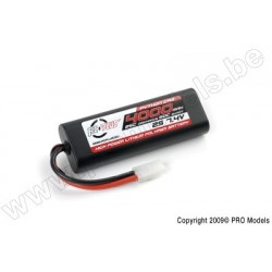 RC Plus - Python Plus Car 25C 4000 Mah 2S 7,4V Hard Case, Tamiya