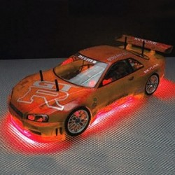 RC NEON RED UNDER CAR LIGHTING