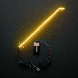 RC NEON ANTENNA KIT - ORANGE