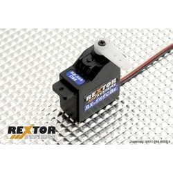 Rextor Systems - RX-65CBE Digital Servo, Ball Beared, Carbon Gears