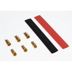 Goldkontakt Stecksystem Bullets DB6 D - 6mm (3 Paar)