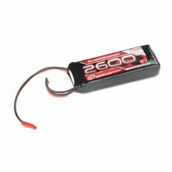 LiPo 7,4V, 2600mAh, 2/3A Straight, Empfängerpack (EH)