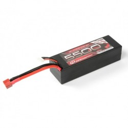 LiPo 11,1V, 5500mAh, 60C, 3S-1P, Racing Pack T-Stecker
