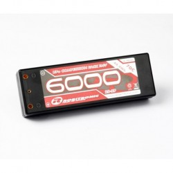 LiPo 7,4V, 6000mAh, 70C, 2S-2P, Competition Pack