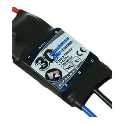 XC3012BA V2, ESC 30A, 2-4s LiPo, for plane & heli