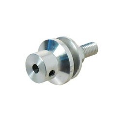 PM32, prop adapter for 3.175mm shaft, long propeller shaft