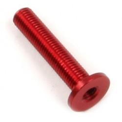 Steher für Reibscheiben rot eloxiert