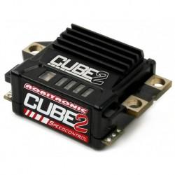 CUBE2 Fahrtenregler mit Datenaufzeichnung Schwarz