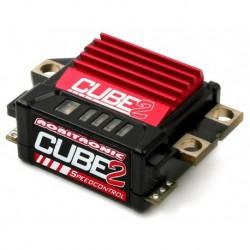 CUBE2 Fahrtenregler mit Datenaufzeichnung Rot
