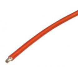 Silikonkabel 1m Rot 4,0mm2