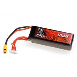 Rockamp 1300mAh 6S 35C (33x35x109) für Align