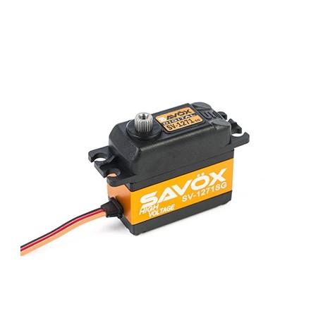 Savöx - SV-1271SG Digital High Voltage Coreless Motor Servo , Steel Gear